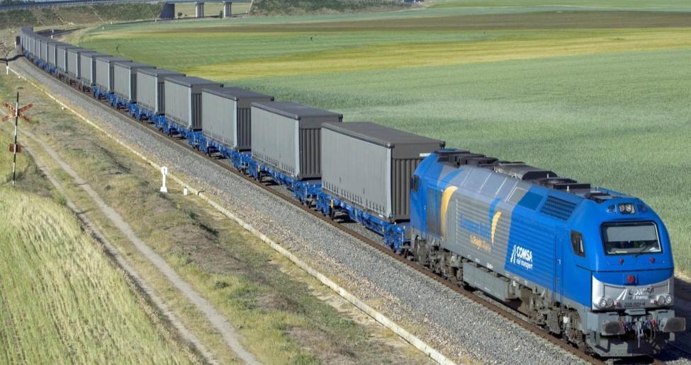 Quota ferroviària del port de Barcelona va augmentar un 13% el 2018