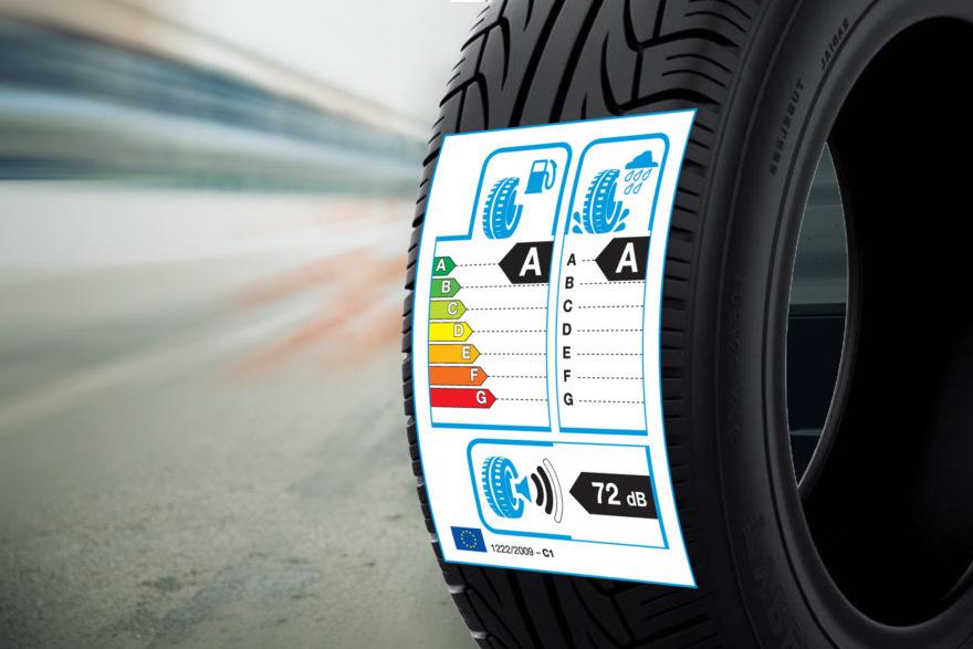 La normativa de l'EU exigeix etiquetatge visible en els pneumàtics