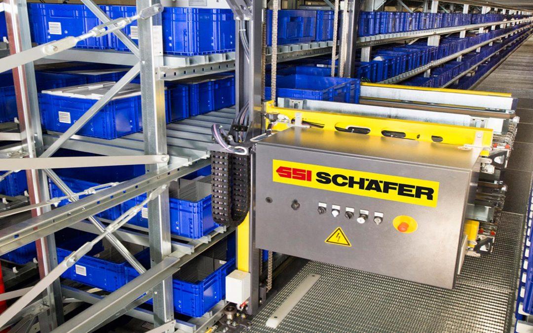 Magatzem automatitzat: una ullada al magatzem de SSI Schaefer a Suècia