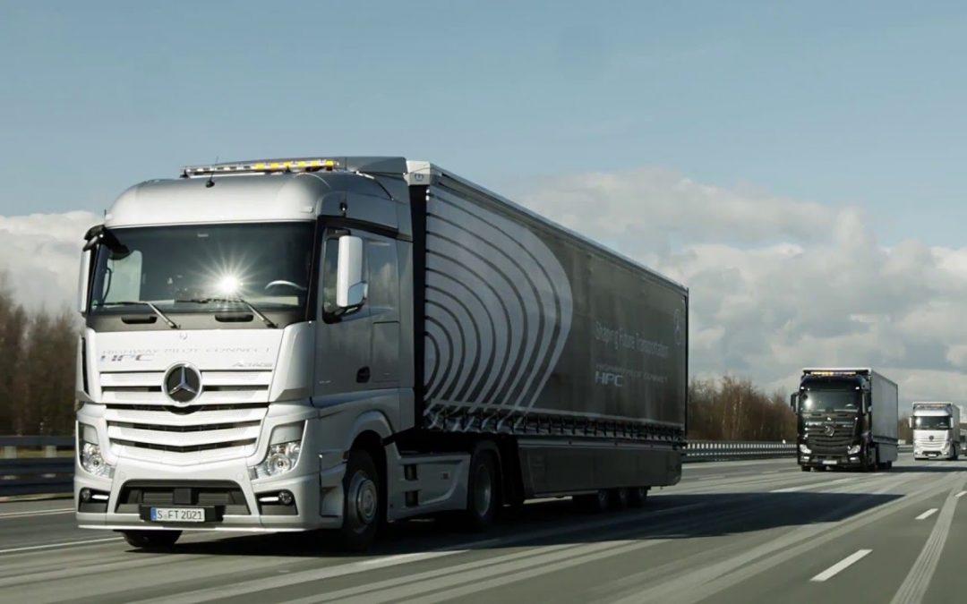 El platooning, una solució davant l'escassetat de conductors de camions?